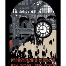 Pennsylvania Station Vintage Railroad Travel Poster[4 sizes, matte+glossy avail]