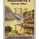 Ireland #2 - Killarney - 11x17 inch Vintage Irish Travel Poster