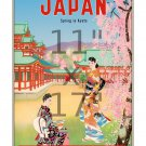 Pan Am - Japan - Colorful 11x17 inch Vintage Airline Travel Poster