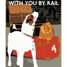 Take Your Dog With You British Railways Poster [6 sizes, matte+glossy avail]