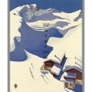 Austria #8 - Vintage Austrian Travel Poster [4 sizes, matte+glossy avail]