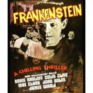 Frankenstein #4 - Vintage Film Movie Poster [4 sizes, matte+glossy avail]