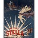 Petrole Stella - Vintage 19th Century Poster/Print [4 sizes, matte+glossy avail]