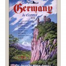 Pan Am Germany - Vintage Airline Travel Poster [6 sizes, matte+glossy avail]