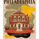 Philadelphia #1 - Vintage Travel Poster [4 sizes, matte+glossy avail]