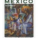 Mexico #3 - Xochimilco - 11x14 inch Vintage Travel Poster