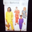 **Butterick Pattern #4243, womens/petite, top, skirt and pants, size 22W, 24W, 26W