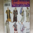 SIMPLICITY CHRISTMAS COSTUME PATTERN  #4213 bible characters, adults size xs-xl
