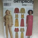 SIMPLICITY Pattern #5463 Misses/womens pants skirt, tank top, jacket and top, size 20w-28W