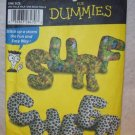 SIMPLICITY  Pattern #4928 Sewing Pattern Dummies alphabet pillows