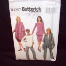 Butterick Pattern #4297, misses/petite jacket, top, skirt and pants, size xsm, sml, med