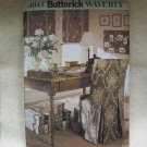 **Butterick Pattern #4043 Home Office Accessories, chair covers, memo board, pen cup, photo box