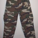 "Army fatigue/camouflage Pants Size Boys 8, ""Faded Glory"""