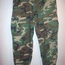 Army fatigue/camouflage Pants Size men's 46/34, Eddie Domani