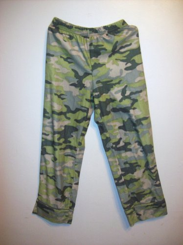 Army fatigue/camouflage pajamas unisex Size 6,by Steve Boy