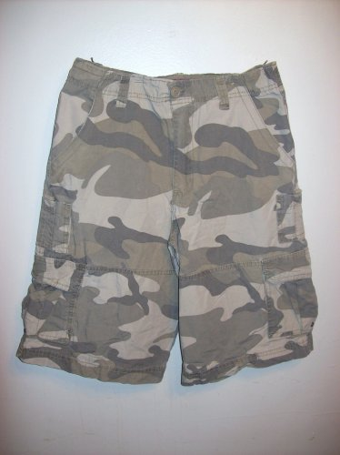 Army fatigue/camouflage shorts size 12