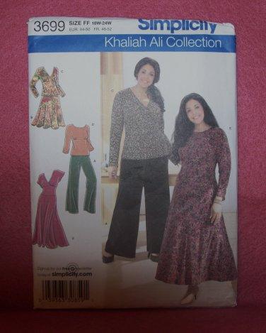 SIMPLICITY Khaliah Ali Collection Pattern #3699 adult, size  18W -24W
