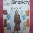 SIMPLICITY Pattern #8226 Misses top , skirt, pants and scarf:size L, xl,