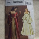 COSTUME Butterick Pattern #4571  size 14, 16, 18, 20 , misses costume, floor length dress