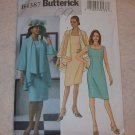**Butterick Pattern #4387, size 16, 18, 20, 22 misses jacket and dress