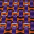 Purple and orange fabric