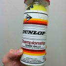 Dunlop Championship Tennis Balls 1 Can