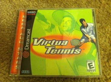 Sega DreamCast Virtua Tennis Video Game Perfect Condition