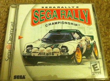 Sega DreamCast Sega Rally Championship Video Game Perfect Condition