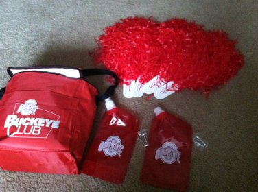 NCAA Ohio State Buckeyes Lunchbox New with extras