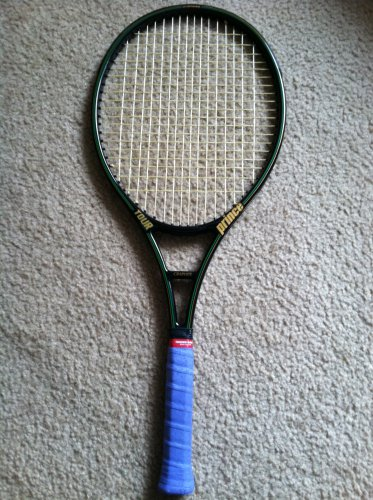 Prince Graphite Tour Oversize 4 3/8 Grip Tennis Racquet, Racket, Raquet