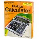 Large Display Desktop Calculator LOT OF 12 PIECES