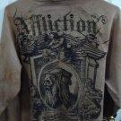 Affliction zip-up hoodie size S
