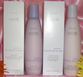 "MARY KAY private spa collection "" embrace romance "" set of 3"