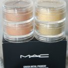 "M-A-C COSMETICS CRUSH METAL PIGMENT ""STACKED 2"""