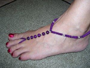 Beach Feet - Purple - SBS-BF-008 - Per Pair