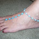 Beach Feet - Turquoise Stone - TBM-FT-003 - Per Pair