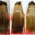 "100% Virgin Human Hair Clip in 14"" straight"