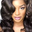 "100% Brazilian Virgin Hair Extensions 16"" loose wave"