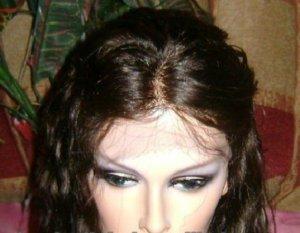 "100% Human Virgin Hair SILK TOP WIG 18"" body wave"