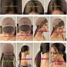 "100% Human Virgin Hair SILK TOP WIG 20"" body wave"