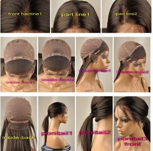 "100% Human Virgin Hair SILK TOP WIG 20"" body wave"