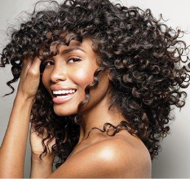 "100% Brazilian Virgin Hair Extensions 24"" Curly"