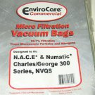 N.A.C.E. Numatic Charles, George Commercial Vacuum Bags ECCNVM2