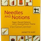 Needles and Notions Paper Pieced Patterns Sewing Book MCB411X