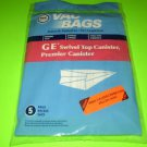 GE Canister Vacuum Cleaner Bags 36-2405-08