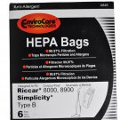 Riccar Simplicity Type B Vacuum Cleaner Bags RSR-1432H