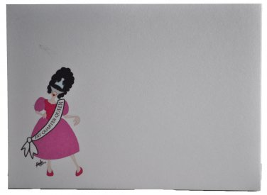 Fat Quarter Queen Sewing Themed Post-it Note Pad