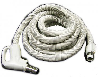 Central Vac Hose Assy 30FT Direct Connect Dual Switching Crushproof Pump Handle