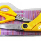 """Triumph Sewing Scissors, Yellow two different sizes (4 1/2"""" & 8 1/2"""")"""