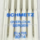 SCHMETZ Overlock Serger Sewing Machine Needles Size 14